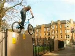 Inspired Bicycles: Danny MacAskill (April 2009)